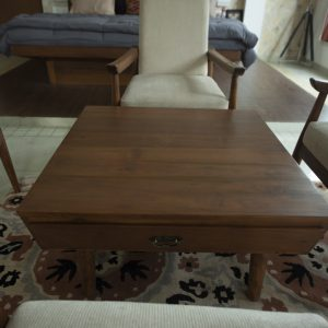 Square Coffee table with Drawers